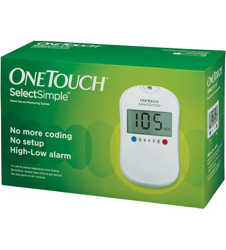 ONE TOUCH SELECT SIMPLE METER