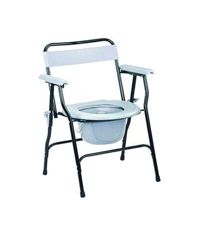 COMMODE CHAIR, GREY