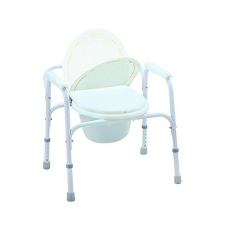 COMMODE CHAIR, WHITE