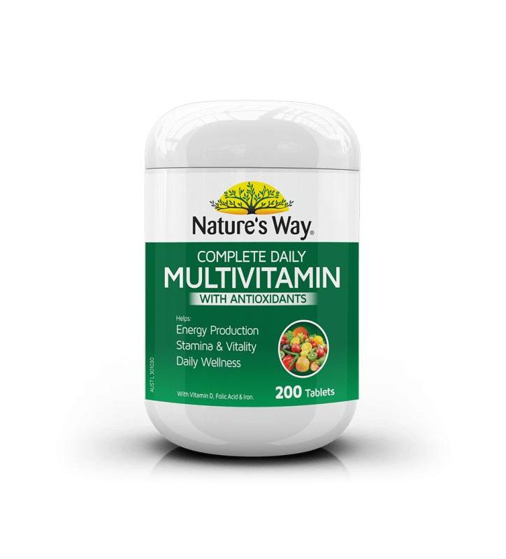 Natures Way Complete Daily Multivitamin Tab
